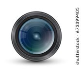 icon for the camera lens.... | Shutterstock .eps vector #673399405