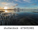 clouds and sea  philippines | Shutterstock . vector #673452481