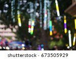 party light. | Shutterstock . vector #673505929