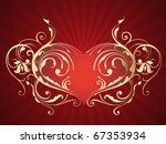 heart illustration | Shutterstock . vector #67353934