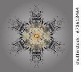 christmas abstract black... | Shutterstock . vector #673613464
