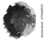 handmade illustration of black... | Shutterstock . vector #673660015