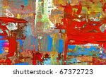 hand paint abstract background   Shutterstock . vector #67372723