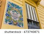 Ceramic Tiles Street Sign Of...