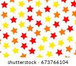 irregular pattern based on... | Shutterstock . vector #673766104