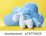 Cute Handmade Horse Toy With...