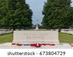 bayeux commonwealth war graves... | Shutterstock . vector #673804729