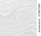 textural white background. wave ... | Shutterstock .eps vector #673847089
