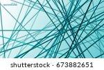 vector abstract background of... | Shutterstock .eps vector #673882651