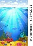 vectorial illustration of... | Shutterstock .eps vector #673942711
