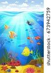vectorial illustration of a... | Shutterstock .eps vector #673942759