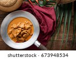 Red Curry With Pork. Thai Food...