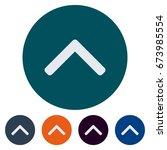 icons flat caret for web ...   Shutterstock .eps vector #673985554
