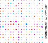 modern textured halftone of... | Shutterstock .eps vector #673994389