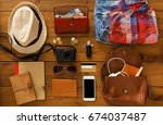 journey planning  tourist... | Shutterstock . vector #674037487