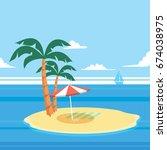 islands | Shutterstock .eps vector #674038975