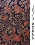 Pattern, fabric tissue