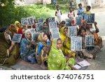 varanasi   india 20 september... | Shutterstock . vector #674076751