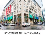 montreal  canada   may 26  2017 ... | Shutterstock . vector #674102659