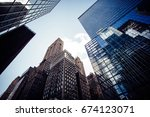 new york | Shutterstock . vector #674123071