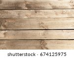 horizontal background of wood... | Shutterstock . vector #674125975