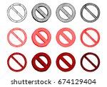 vector hand drawn illustration... | Shutterstock .eps vector #674129404