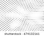 abstract halftone dotted... | Shutterstock .eps vector #674132161