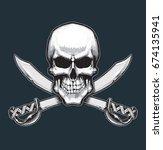 vector illustration of the... | Shutterstock .eps vector #674135941