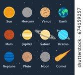 vector illustration. the... | Shutterstock .eps vector #674159257