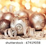 silver holiday background with... | Shutterstock . vector #67419058
