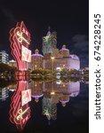 macau  china   june 30  2016 ... | Shutterstock . vector #674228245