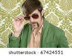 geek retro salesperson man... | Shutterstock . vector #67424551