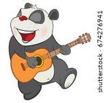 vector illustration of a cute...   Shutterstock .eps vector #674276941