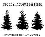 fir trees  christmas holiday...