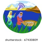 Passover  Moses In The Basket