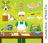 color vector clip art.... | Shutterstock .eps vector #674332711
