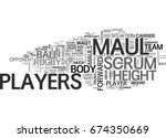 why do rugby players scrum and... | Shutterstock .eps vector #674350669