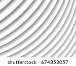 white abstract architecture...   Shutterstock . vector #674353057