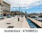marseille  france   june 21 ... | Shutterstock . vector #674388511