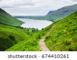 Wast Water Lake  View From The...