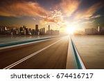 Highway Overpass Motion Blur...