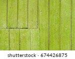 Light Green Wood Background...