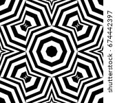 seamless pattern with black... | Shutterstock .eps vector #674442397