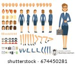 character constructor of... | Shutterstock .eps vector #674450281