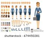 character constructor of... | Shutterstock .eps vector #674450281