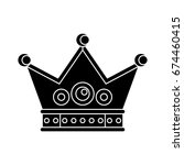 crown icon | Shutterstock .eps vector #674460415
