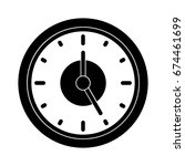 clock icon | Shutterstock .eps vector #674461699