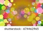 vector  abstract background... | Shutterstock .eps vector #674462965