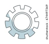 gear wheel mechanical business... | Shutterstock .eps vector #674497369