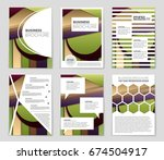 abstract vector layout... | Shutterstock .eps vector #674504917